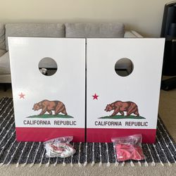 Wild Sports California Republic Cornhole Game for Sale in Los Angeles,  CA