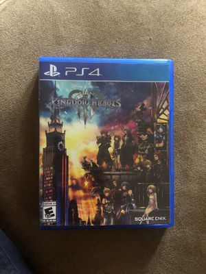 Ps4 kingdom hearts 3 for Sale in Providence, RI