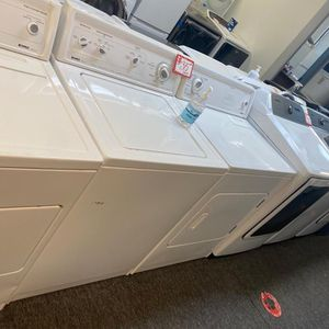 Kenmore top load washer & dryer set in excellent condition with 4 months warranty for Sale in Laurel, MD