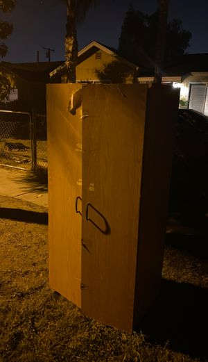 Tall Cabinet for outdoor or indoor for Sale in Fountain Valley, CA