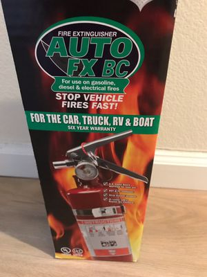 Fire extinguisher car, truck, boat, RV for Sale in Los Angeles, CA
