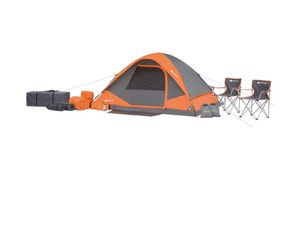 BRAND NEW OZARK TRAIL 22 PIECE CAMPING TENT AND ACCESSORIES for Sale in East Orange, NJ