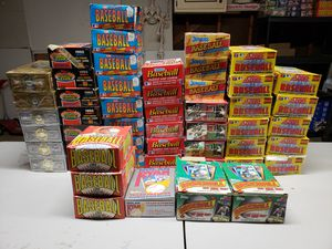 51 Boxes of Baseball Wax Packs Cards Sealed Huge Lot 1991 for Sale in Arlington Heights, IL