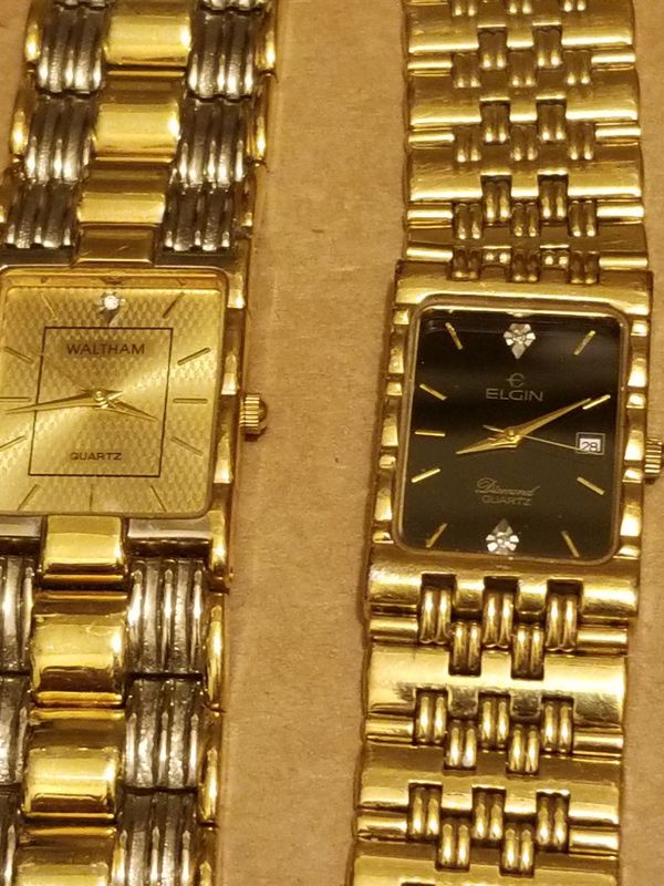 MENS VINTAGE watches LOT