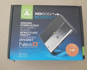 JL Audio XD 600/1v2 amplifier for Sale in Port St. Lucie, FL