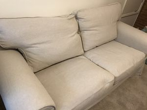 IKEA Ektorp loveseat- brand new cover! for Sale in Seattle, WA