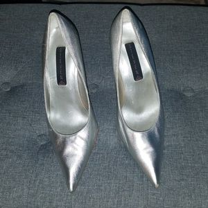 STEVEN by Steve Madden Silver Heels for Sale in Gardena, CA
