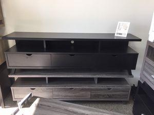 Olivia TV Stand for TVs up to 70 inch, Black, SKU #151280 for Sale in Santa Fe Springs, CA