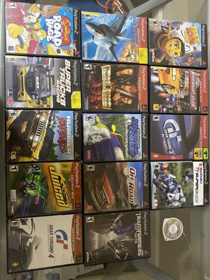 15 Older Games (PS2 and PSP) for Sale in Canby, OR
