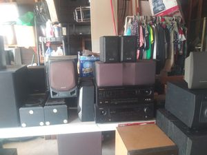 Audio equipment Speakers, receivers, subwoofers, CD and DVD players for Sale in Riverside, CA