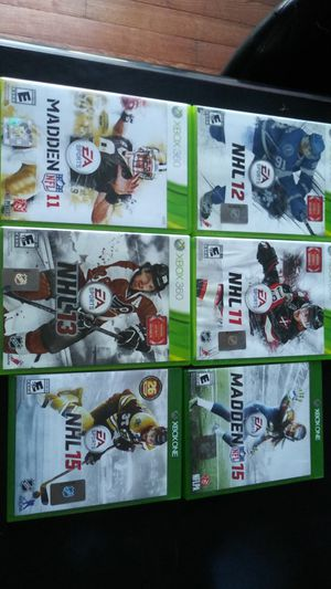 Xbox 360 and Xbox One Video Game Lot for Sale in Romeoville, IL