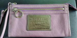 Coach Poppy Purple Wristlet Wallet for Sale in Austin, TX