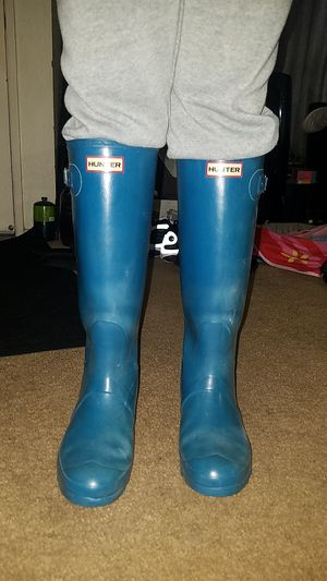 Hunters womens rain boots for Sale in Downey, CA