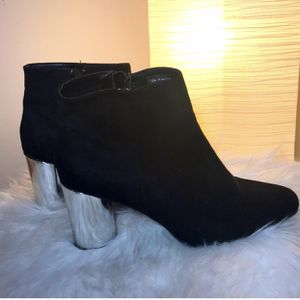 Booties- Ankle Swede Boots, Size 9 for Sale in Bensalem, PA