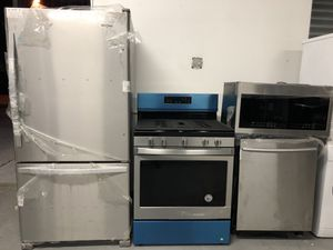 Stainless steel 4pcs Kitchen set for Sale in Nutley, NJ