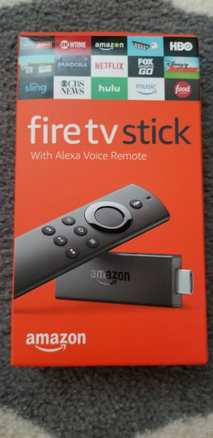 Amazon Fire Tv Stick 2nd Gen latest Model jailbroken with Alexa & K O D I for Sale in Downers Grove, IL