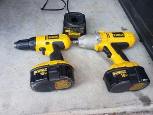 Dewalt drills 18 v set for Sale in Easton, PA