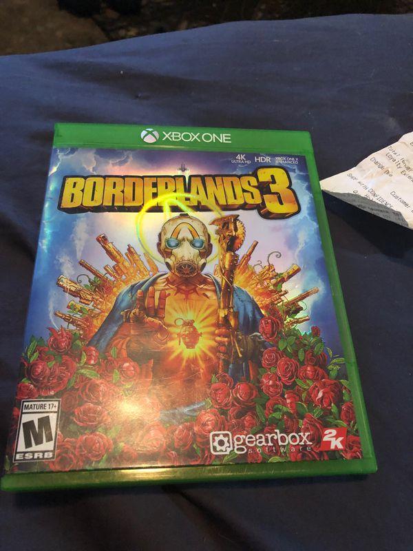 Borderlands 3 Xbox like new