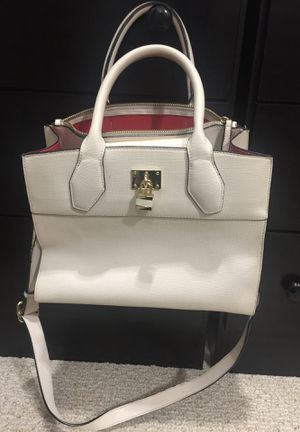 White bag with red Inside for Sale in Lawrenceville, GA