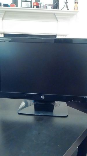 """Nice Thin Bezel HP HDMI compatible 20"""" monitor 2011x for Android Box or computer for Sale in Snellville, GA"""
