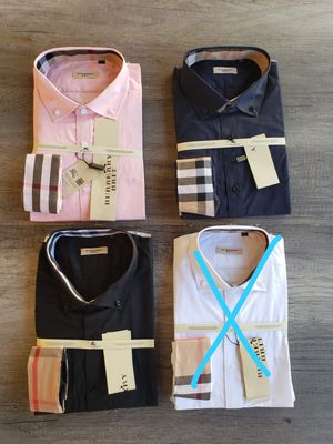 New mens Burberry dress shirts for Sale in Bakersfield, CA