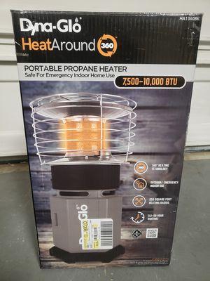 Dyna-glo 10k btu heat around portable propane heater for Sale in Virginia Beach, VA