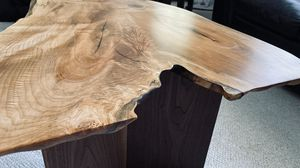 Live Edge Maple and Walnut Coffee Table for Sale in Federal Way, WA