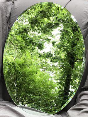 Gatco Designer 2 19.5-in Chrome Oval Frameless Bathroom Mirror for Sale in Lexington, KY
