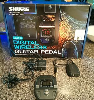 Shure GLDX guitar/bass wireless for Sale in Colorado Springs, CO