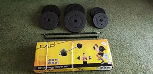 Barbell and weights for Sale in Bridgewater, MA
