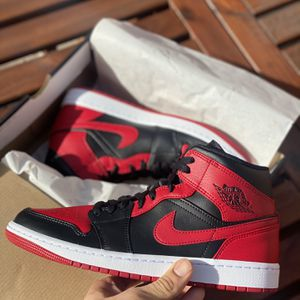 "Jordan 1 Mid ""Banned"" for Sale in Las Vegas, NV"