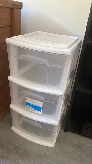 Room Essentials White Plastic Organizer for Sale in Ithaca, NY