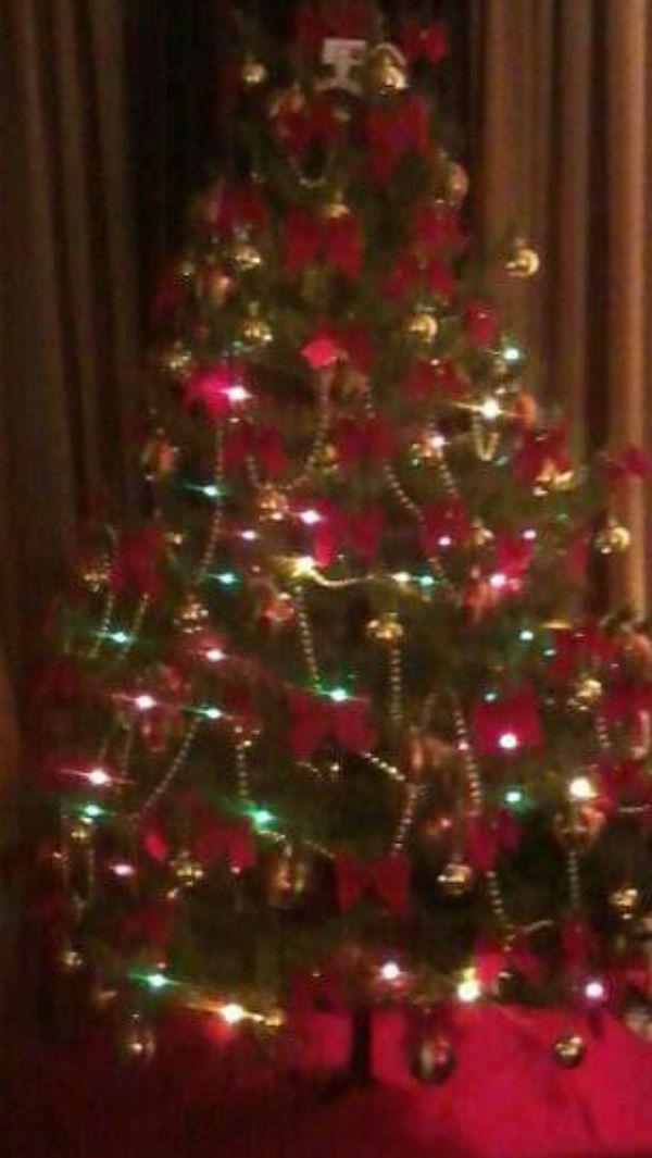 6.5 Xmas tree with all decoration
