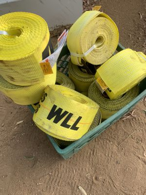 14 winch cargo strap 100$ for Sale in Nuevo, CA