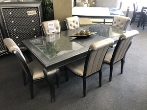 7PC Gray Dining Table Set on SALE 🔥 for Sale in Fresno, CA