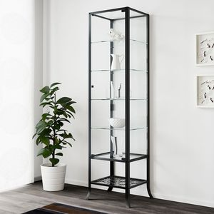 Jewelry handbag accessory cabinet glass iron tower fixture boutique closet for Sale in West Bloomfield Township, MI