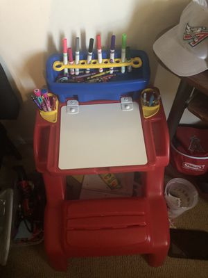 Step 2 Kids Writing Desk Like New for Sale in Fullerton, CA