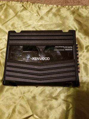 Kenwood 400 watt 2 Channel Bridgeable Subwoofer Amplifier for Sale in Playa del Rey, CA