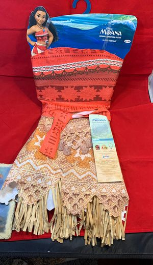 Moana Disney pretend play outfit for Sale in Fort Worth, TX