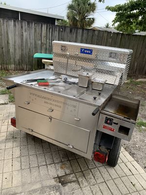 All American Hot Dog Cart/Food Cart/Taco Carr for Sale in Fort Lauderdale, FL