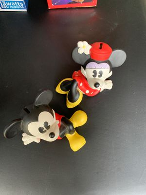 Minnie and Mickey bank for Sale in Vienna, VA