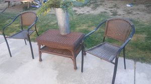 Patio set decor not included good condition do not low ball me my price is firm for Sale in Stockton, CA
