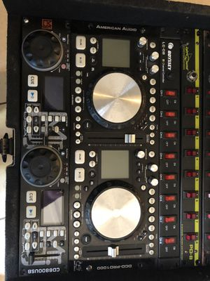 Racks Dj system cd playera/usb for Sale in Sanger, CA