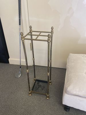 Bronze umbrella holder stand for Sale in Paradise Valley, AZ