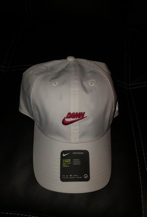 c6a72460201e0 Nike x TDE Kendrick Lamar Pop Up Damn Hat White for Sale in Los Angeles