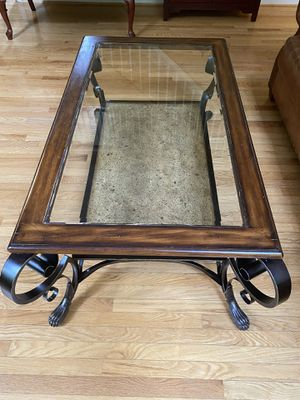 Glass Top Claw Footed Coffee Table for Sale in Bel Air, MD