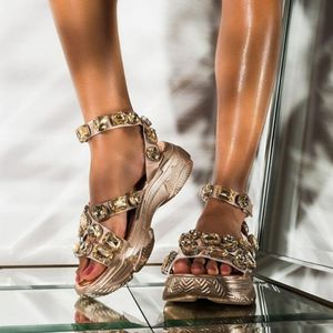 Diamond Ankle Buckle Sandals for Sale in Ontario, CA