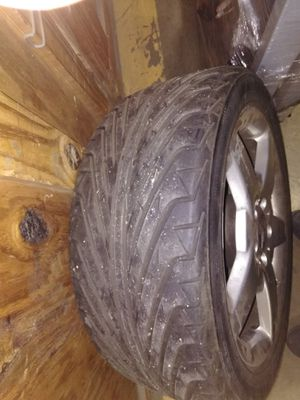 17 inch AMG wheel and tire for Sale in Rockville, MD