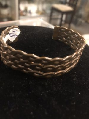 Vintage copper cuff bracelet $30 makes great holiday gift for Sale in San Diego, CA