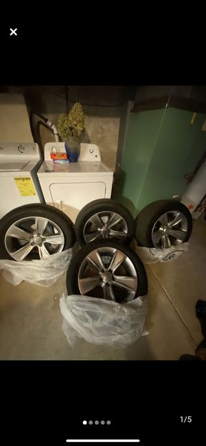 Dodge Charger tires and rims for Sale in Philadelphia, PA